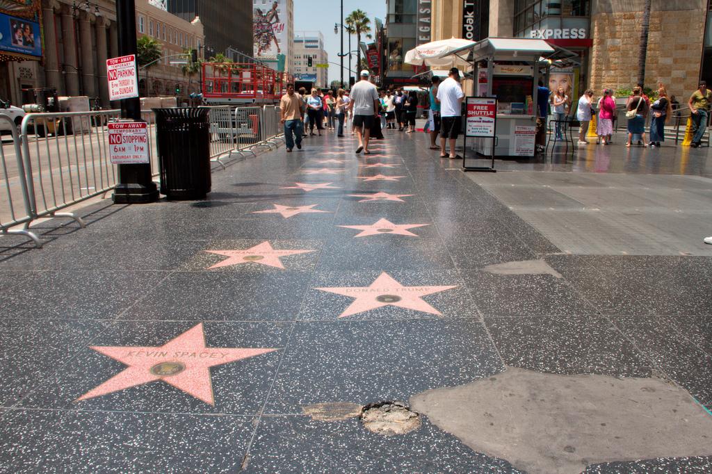Walking in LA